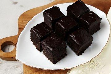 Gesunde Rohkost-Brownies