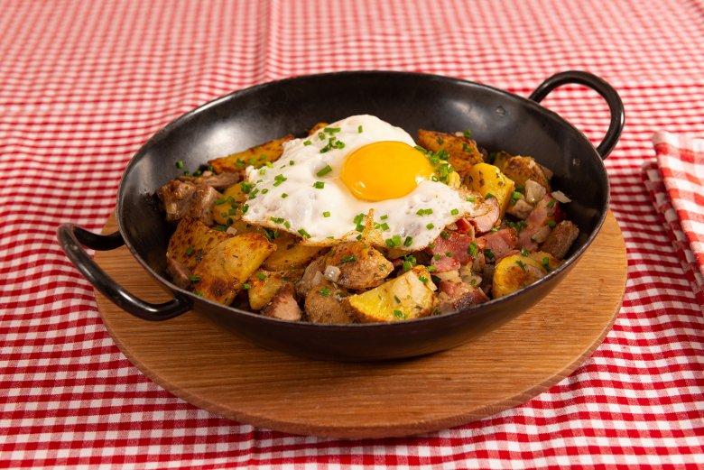 Tiroler Gröstl mit Ei