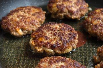 Kartoffel-Fleisch-Frikadellen