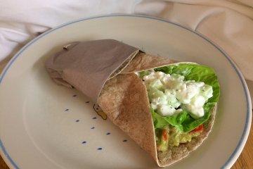 Wraps mit Avocado