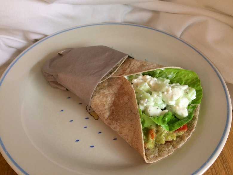 Wraps mit Avocado
