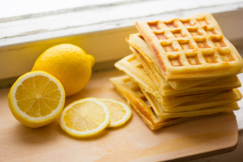Zitronenwaffeln