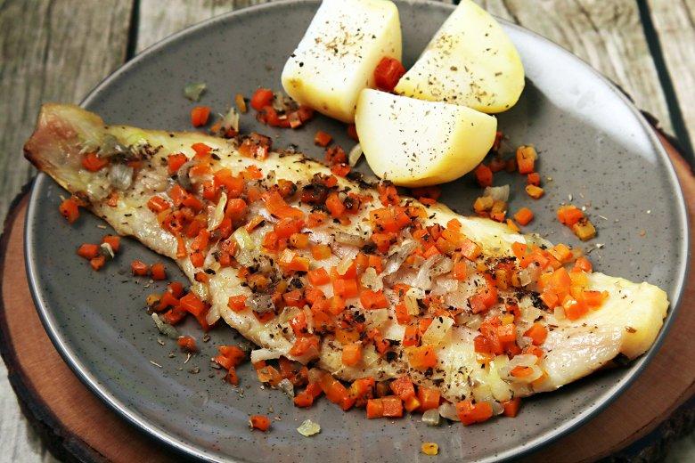 Fisch in Weißweinsauce