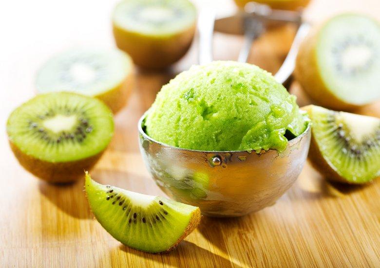 Kiwi-Eis