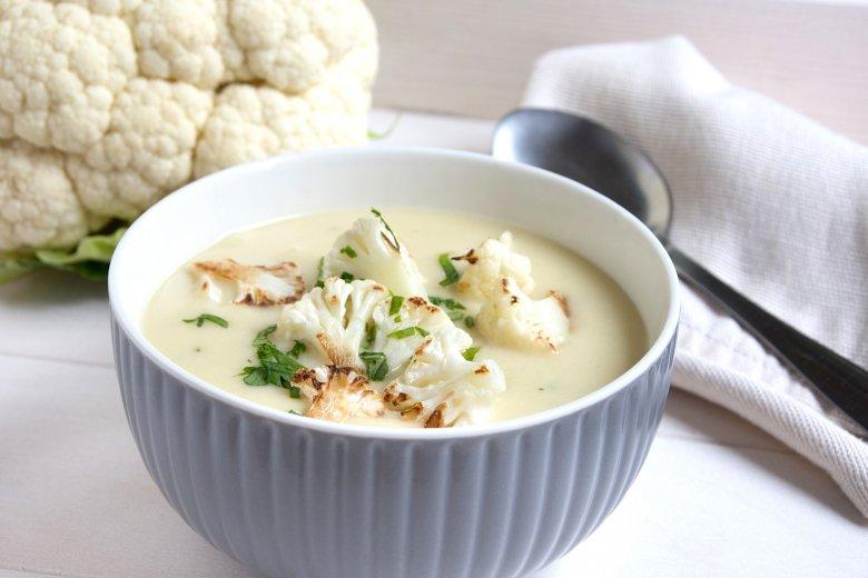 Blumenkohlsuppe mit Kartoffeln