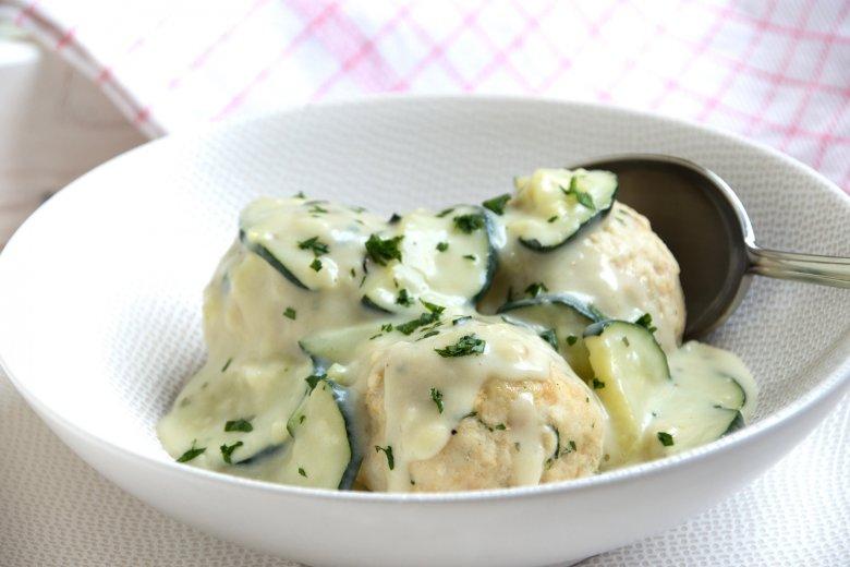 Ricottasauce mit Zucchini