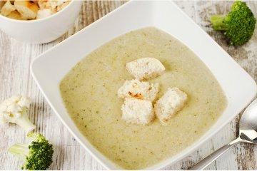 Brokkoli-Blumenkohlsuppe