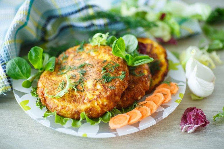 Gemüse-Kartoffelpuffer