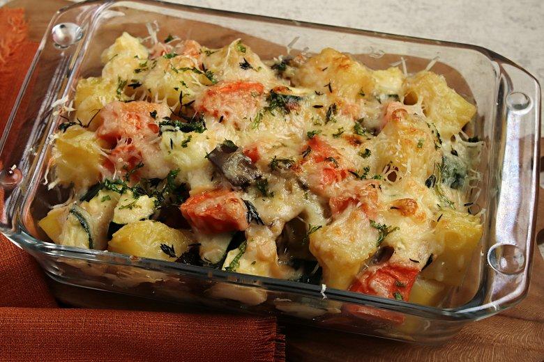 Kartoffel-Gemüseauflauf