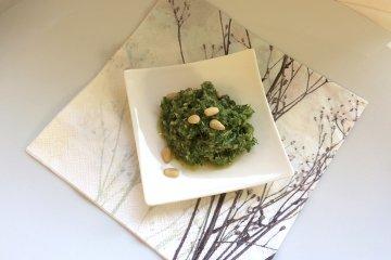 Pesto mit Brunnenkresse