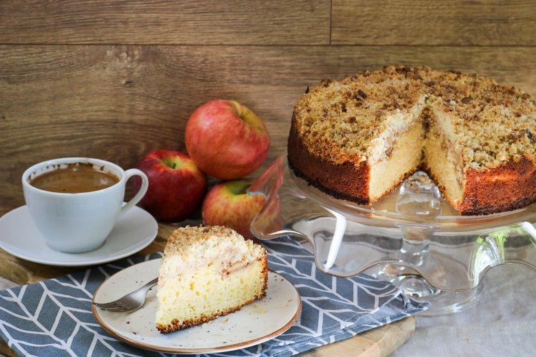 Apfel-Buttermilchkuchen