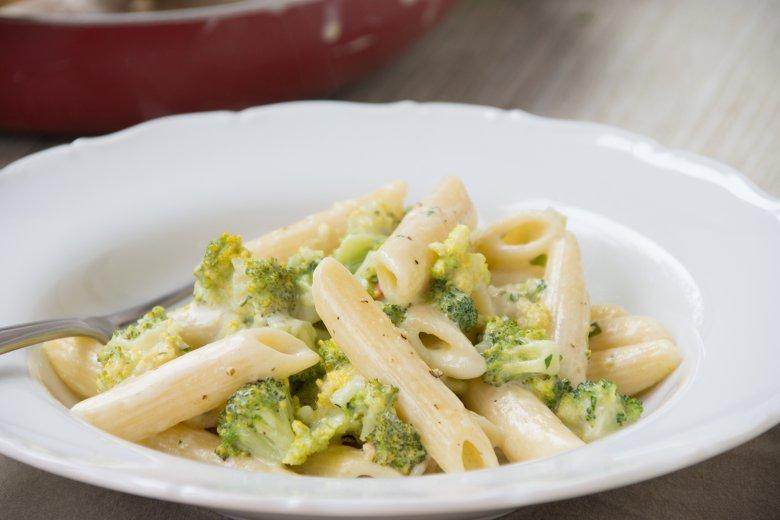 Frischkäsesauce mit Brokkoli