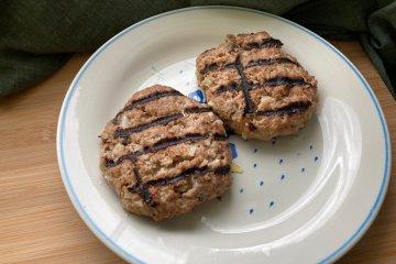 Burger Patties mit Quark