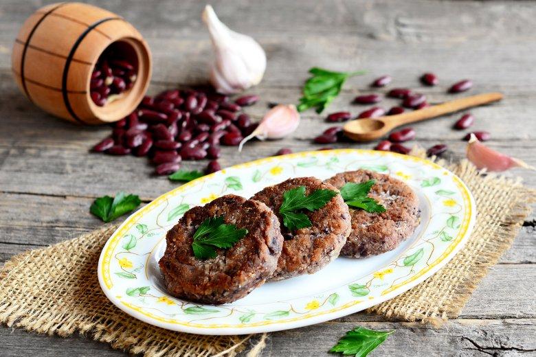 Vegetarische Burger Patties