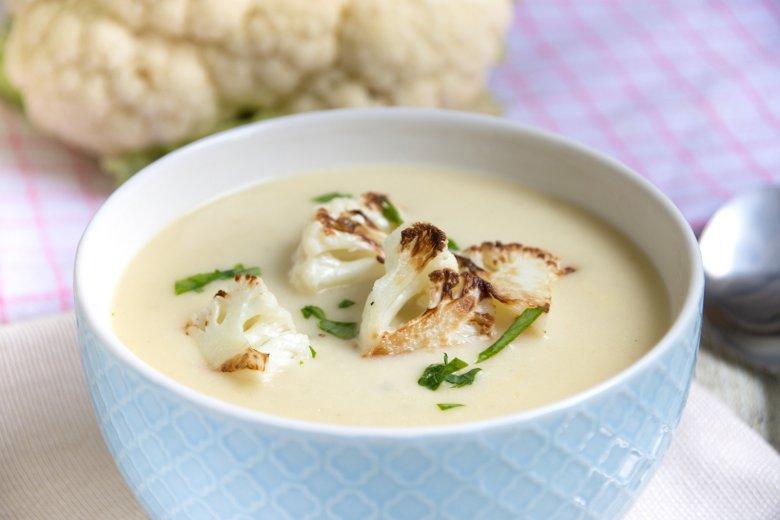 Kartoffel-Blumenkohlsuppe