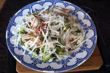 Brokkoli-Blumenkohlsalat