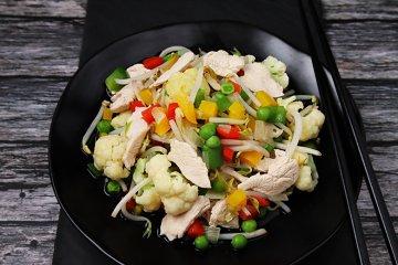 Gemüsepfanne nach chinesischer Art