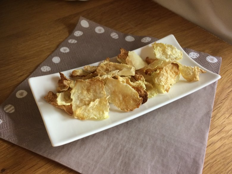 Kohlrabi-Chips