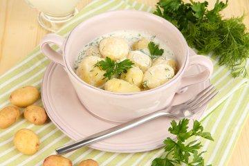Dillsauce mit Kartoffeln