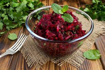 Einfacher Rote Rüben-Salat
