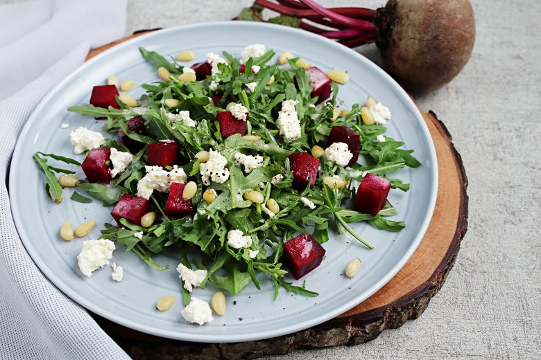 Rote Bete-Salat mit Feta
