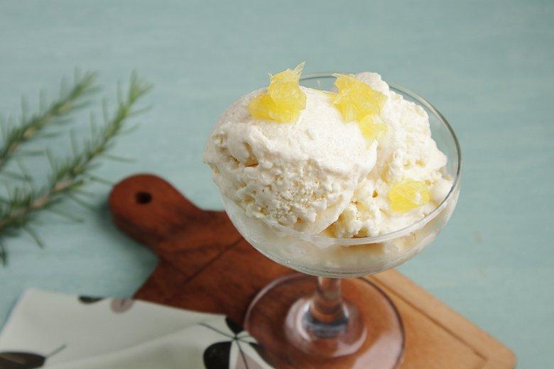Rosmarin-Eis mit Honig
