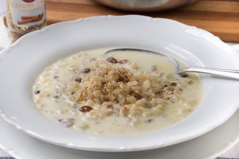 Buttermilchsuppe mit Graupen