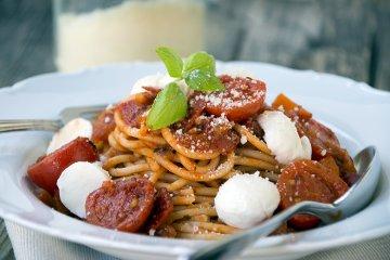 Gemüse-Spaghetti-Bolognese