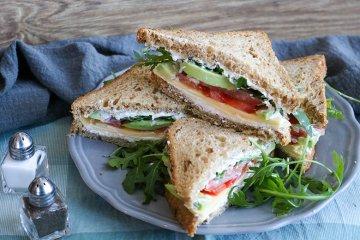 Tomaten-Avocado-Sandwich