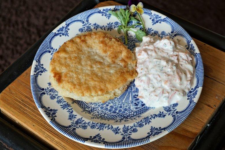 Kohlrabi-Schnitzel mit Parmesan