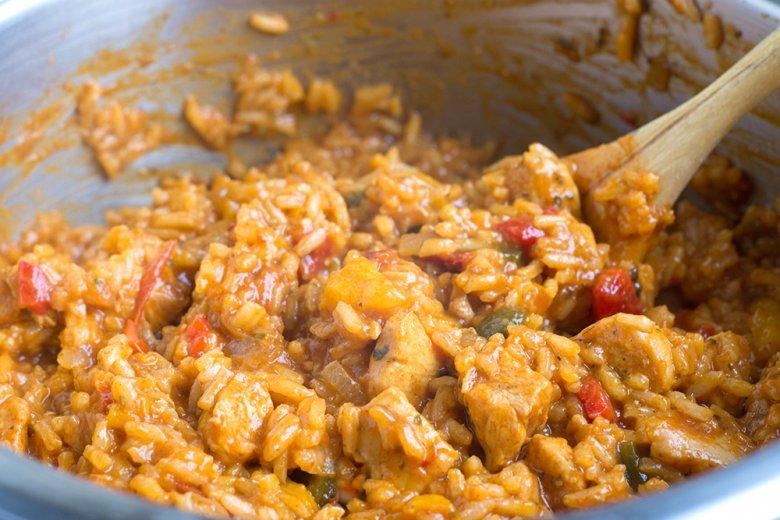 Serbisches Reisfleisch