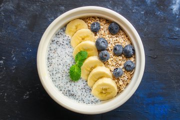 Frühstücks-Beeren-Bowl