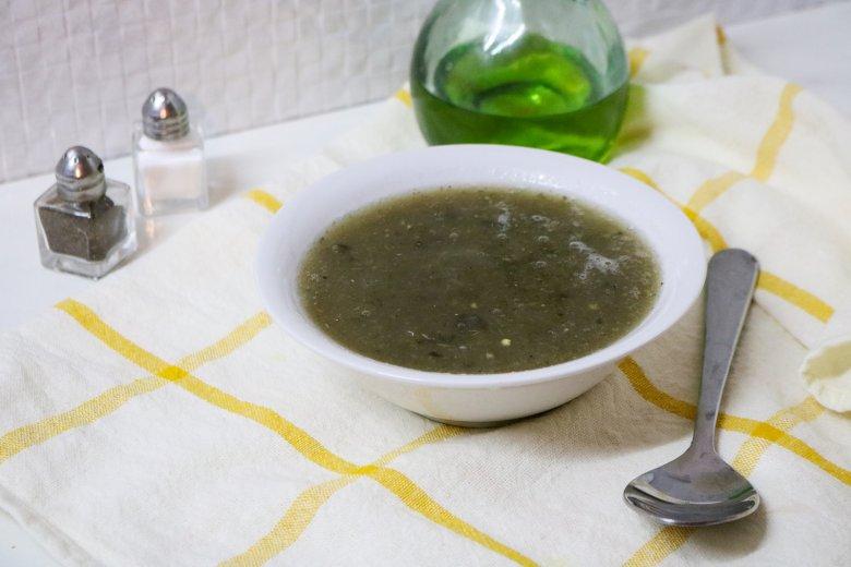 Einfache Auberginensuppe