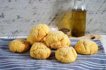 Glutenfreie Maisbrötchen