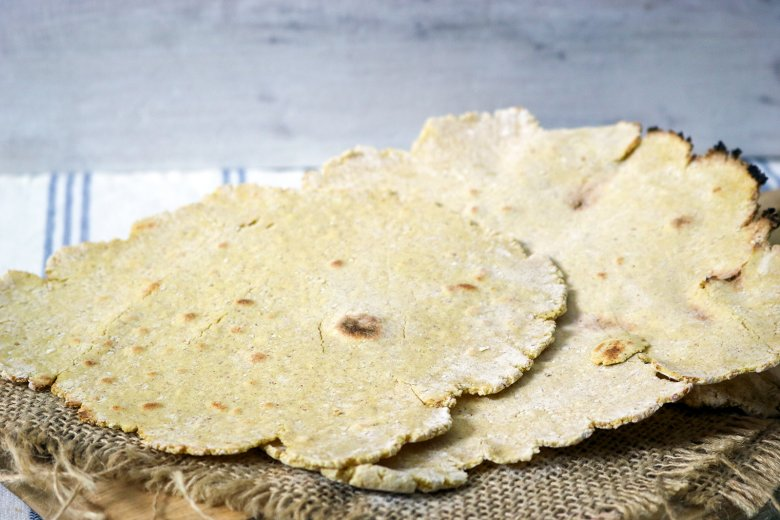 Chapati - Maisfladen