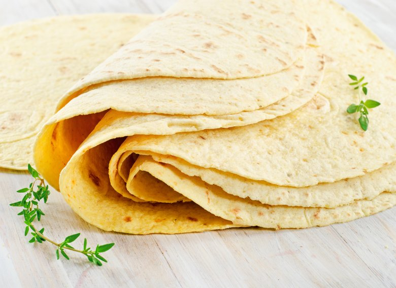 Tortillas aus Maismehl