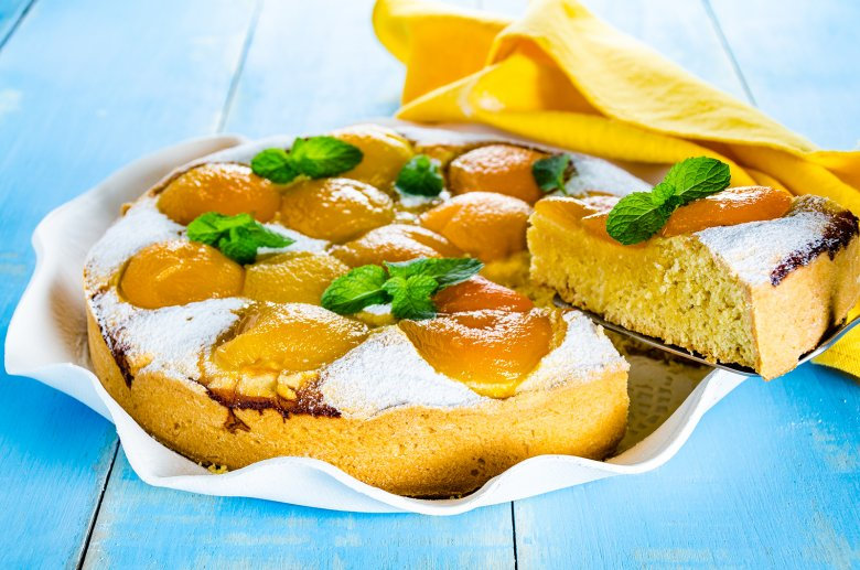 Schneller Aprikosenkuchen