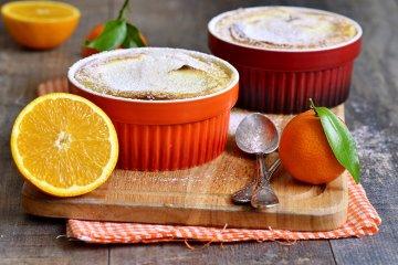 Orangensoufflés