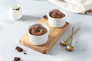 Schnelle Schokoladensoufflés