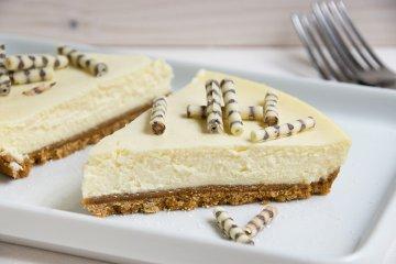 Veganer Cheesecake