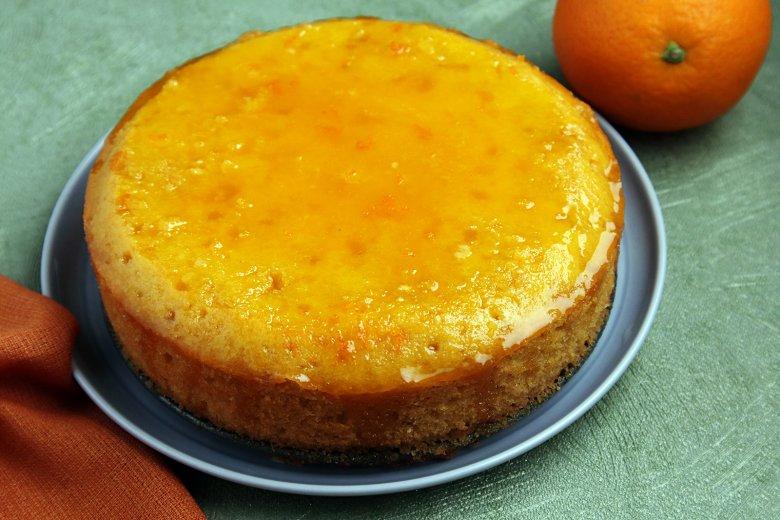 Orangenkuchen vom Blech