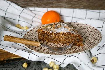 Orangen-Nuss-Kuchen