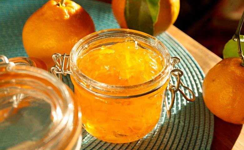 Einfache Orangenmarmelade