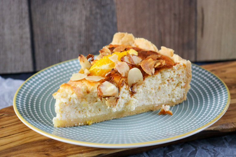 Orangen-Quark-Kuchen