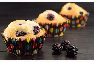 Brombeere Muffins