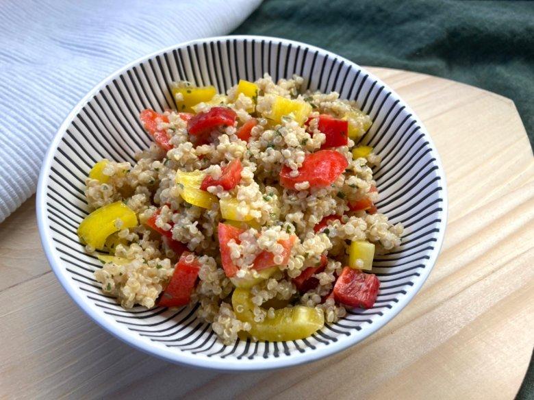 Paprika-Quinoa-Salat