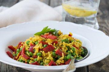 Paprika-Curry-Reis