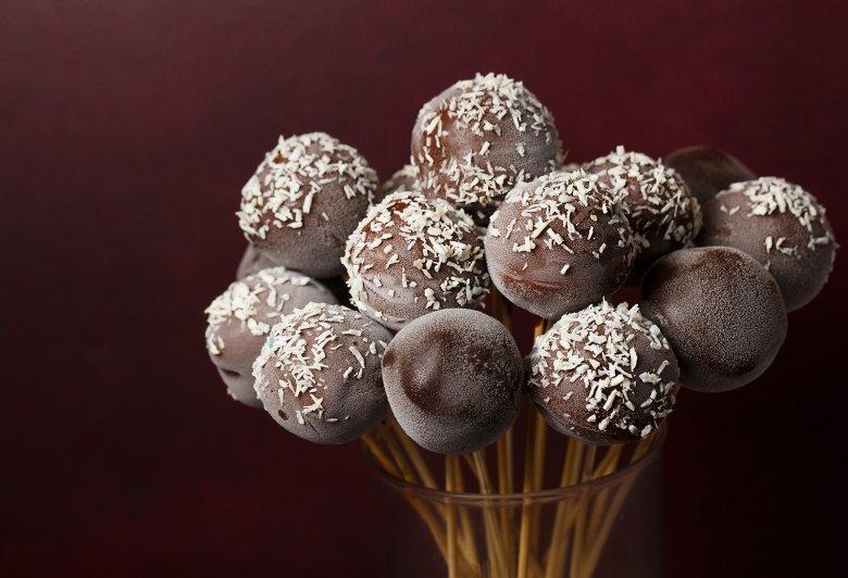 Ice Pops mit Schokolade