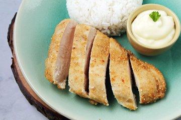 Hühnerbrust in Meerrettichsauce