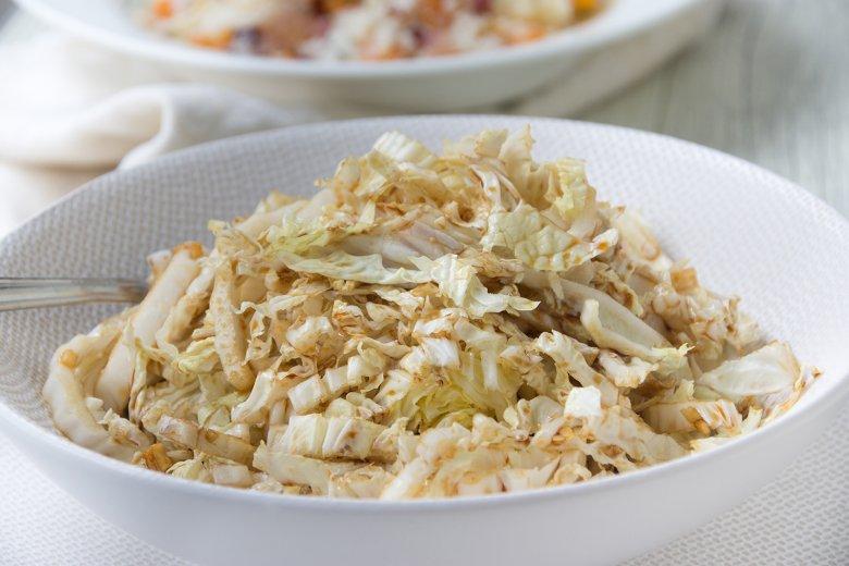 Süß-säuerlicher Chinakohlsalat